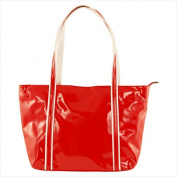Catherine Lillywhite IT1002RDWH Italian Red And White Tote