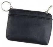 DDI 1475774 Coin Pouch with Key Ring -Black Case Of 480