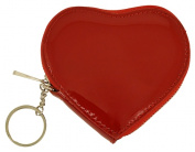Catherine Lillywhite GC1268RD 8.9cm . RED HEART COIN PURSE