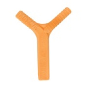 Ark Therapeutic Y-Chew - 6.4cm . Handle And 1.75 And 3.2cm . Extensions - Orange