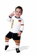 Footysuit FOOTYDE1218 Germany Soccer Baby Sleepsuit 12-18 Months