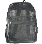 Harvest LM184 Black Mesh Backpack 18 x 36cm x 15cm .