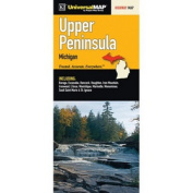 Universal Map 29610 Michigan Upper Peninsula Fold Map