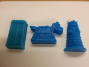 Childrens MINI Dr Who soaps x3 pieces.