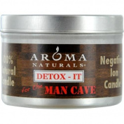 Aroma Naturals Detox-It Allergy Friendly Candle - For The Man Cave 80ml