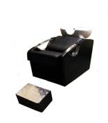 Barbers Back Wash Basin With Chair And Footrest - 9667