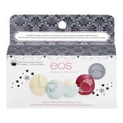 EOS Organic Limited Edition Winter/Holiday Lip Balm Gift Set