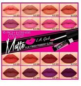 LA Girl USA Matte Pigment Lip Gloss - Stunner