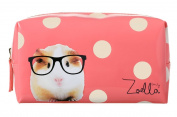 Zoella Beauty Pink Spotted Guinea Pig Beauty Bag / Make Up Bag