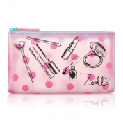 Zoella Beauty Pink Frosted Cosmetic / Coin Purse / Make Up Bag