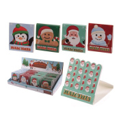 Nail File Match Book Christmas Design