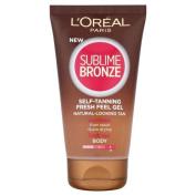 L'Oreal Paris Self-Tan Sublime Bronze Gel - 150 ml