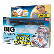 Big Vision - Magnifying Glasses - See 160x Larger - Hands Free - Unisize