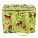 Sass & Belle Insulated Recycled Plastic Lunch Bag - Spring Forest Fox