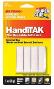 Super Glue HandiTAK Handi Tak, the Removeable, Reusable Adhesive - White