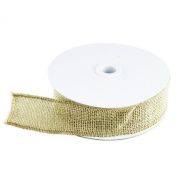 10 Yard Burlap Natural Colour Fabric Ribbon Roll for Arts & Crafts Homemade DIY Projects, Event Decorations by Super Z Outlet®