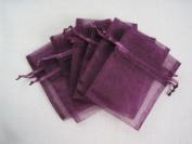 MyCraftSupplies Premium Organza Bags 20cm x 30cm 10-Pack for Gifts, Storage