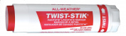 All-Weather Twist Stik Livestock Marker, 2.5cm - 0.6cm Diameter, 10cm - 1.9cm Length, Red