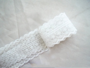 Dealglad® 10 Yard Clothing Accessories Embroidered Lace Fabric Trim Ribbon Wedding Craft for DIY Handcraft Home Party Decorations