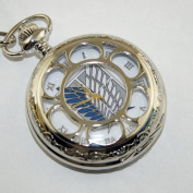 Shingeki No Kyojin Attack on Titan Collectible Anime Pocket White Watch