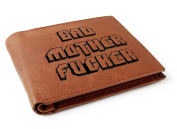 Gizzys/United Entertainment Bad Motherfucker Wallet, Brown