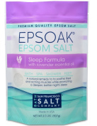 Epsoak Epsom Salt Sleep Formula 0.9kg - Sleep Well & Relax with Epsom Salt & 100% natural Lavender Essential Oil