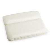 Halovie Non-Slip Spa Bath Pillow Bathtub Cushion Memory Foam Headrest,Comfortable and Soft,White