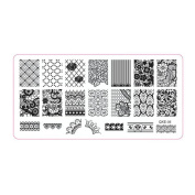 Creazy® 1Pc Nail Art Image Stamp Stamping Plates Manicure Template DIY Template Tool
