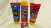 Nickelodeon Paw Patrol 4pc Bath Set. Barking Berry Bubble Bath, Shampoo & Body Wash. 1 Magic Towel