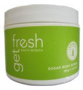 Gert Fresh Santa Monica Uplifting Lemongrass Sugar Body Scrub 300ml