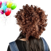 Vani® Afro Curl Curly Clown Costume Football Party 60s 70s 80s Disco Wig Hair