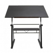 Studio Designs 13340 Zenith Drafting Table - Black