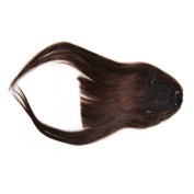 Clip on Bangs Real Human Hairpieces for Women