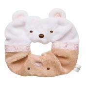 San-X Corner Sumiko Gurashi Chou Hair Band Hair Tie [Shirokuma Polar Bear & Tonkatsu]