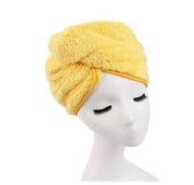 3s Microfiber Bath Towel Hair Dry Hat Cap Quick Drying Lady Bath Tool