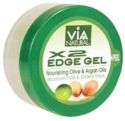 Via Natural X2 Edge Gel Nourishing Olive & Argan Oils