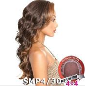 ISIS Brown Sugar Human Hair Blend Silk Lace Wig - BS608 (10cm x 10cm Lace)