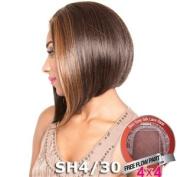 ISIS Brown Sugar Human Hair Blend Silk Lace Wig - BS609 (10cm x 10cm Lace)