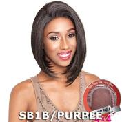 ISIS Brown Sugar Human Hair Blend Silk Lace Wig - BS609 (10cm x 10cm Lace) (1 - Jet...