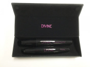 Divine Skin & Cosmetics ALL NEW 3D fibre LASH!!!Up to 300% Increase in Thickness and Volume, Lengthen Lashes without Extensions! BONUS BUY- FREE EYELASH CURLER INCLUDED!!