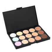 15 Colours Contour Face Cream Makeup Concealer Palette Powder