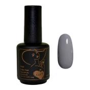 Gel Nail Polish, Gel 7 Soak Off Gel LED UV Manicure Polish 15ml - Steel Cut