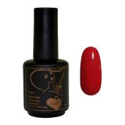 Gel Nail Polish, Gel 7 Soak Off Gel LED UV Manicure Polish 15ml - Red Delicious
