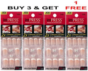 "**FREE OFFER** KISS imPRESS ""ROCK IT"" 2x Longer Lasting Short Nails by Broadway Press-On Manicure Nails."