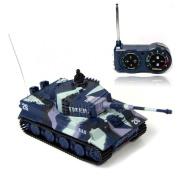 Lookatool® New Mini 1:72 49MHz R/C Radio Remote Control Tiger Tank 20M Kids Toy Gift