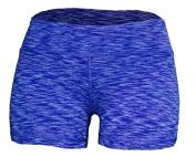 WOD Shorts for Women (Dark Blue Space Dye, L/10) Size: L/10 Colour
