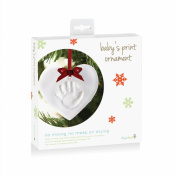 Tiny Ideas Baby's Handprint Ornament, Heart