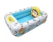 Garanimals Portable Inflatable Toddlers Baby Bathtub with Temperature Display