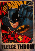 Batman Kids 100cm x 130cm Soft Fleece Throw Blanket