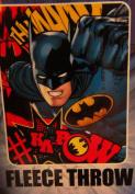 Batman Kids 100cm x 130cm Soft Fleece Throw Blanket